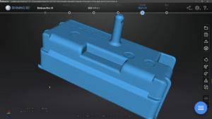 灰皿3Dスキャンデータ